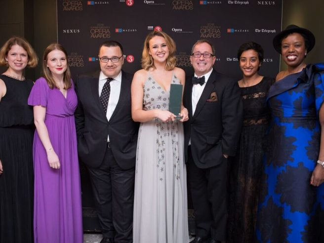 Opera Holland Park wins International Opera Award for Education and Outreach Work