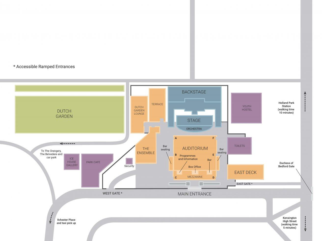 Theatre Map
