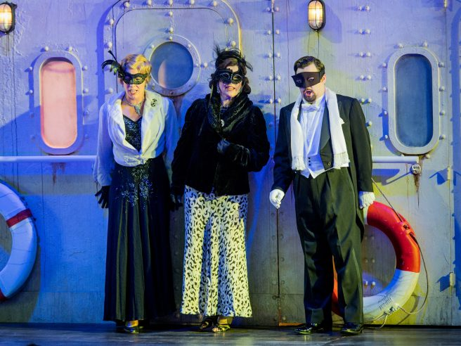 Un ballo in maschera: life in fancy dress