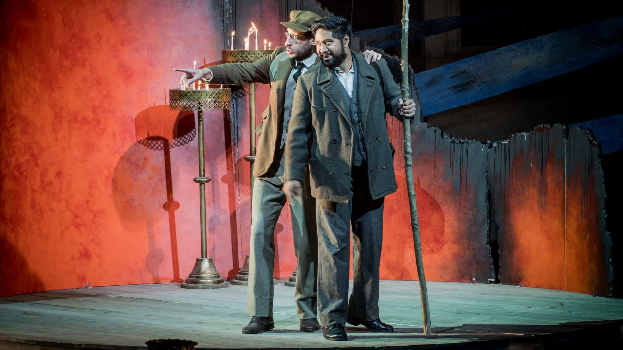 Ross Ramgobin in Káťa Kabanová at Opera Holland Park ,2017 © Robert Workman