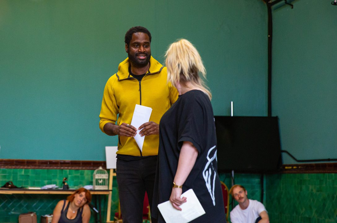 Ako Mitchell as Bob Baker and Louise Dearman as Ruth in Wonderful Town, 2021 © Danny Kaan