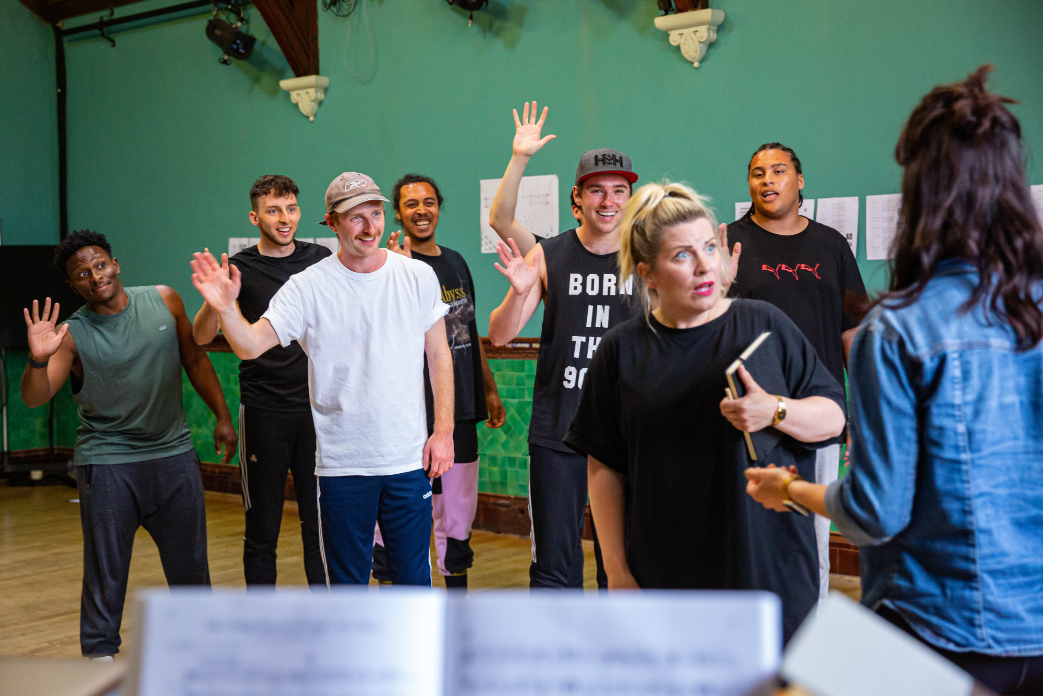 The Cast of Wonderful Town, 2021 © Danny Kaan