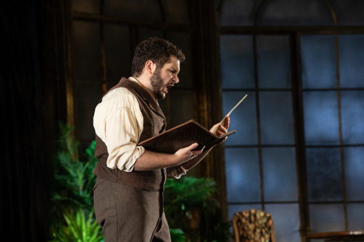 Matteo Desole as Alfredo in La Traviata, 2021 © Ali Wright