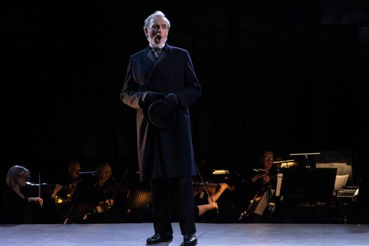 Stephen Gadd as Giorgio Germont in La Traviata, 2021 © Ali Wright
