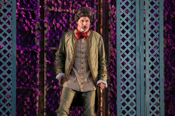 James Cleverton as Bartolo in The Marriage of Figaro, 2021 © Ali Wright