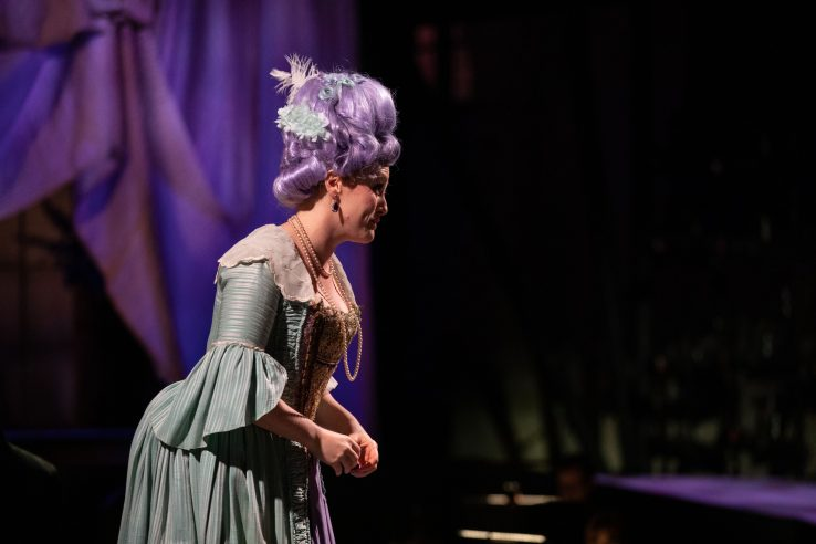 Claire Lees as Barbarina in The Marriage of Figaro, 2021 © Ali Wright