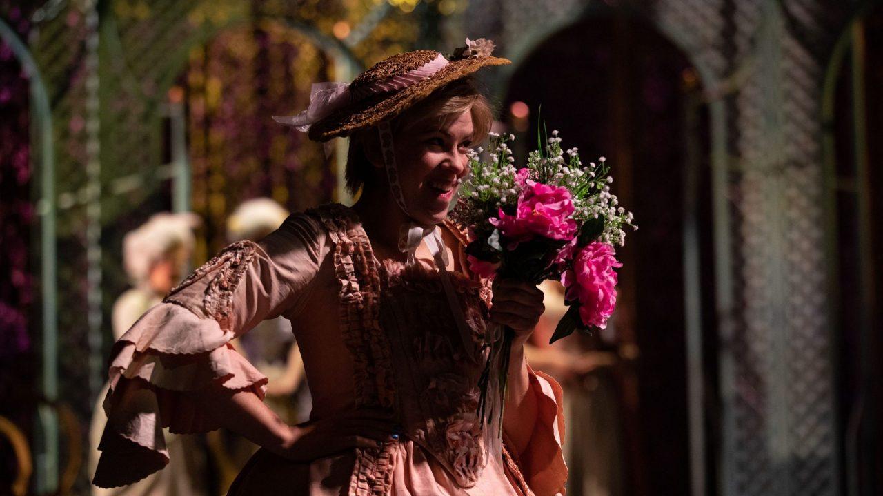 Samantha Price as Cherubino in The Marriage of Figaro, 2021 © Ali Wright