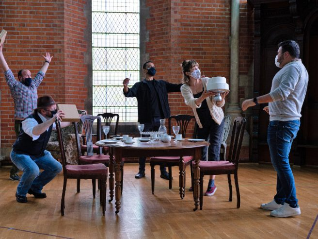 First Look: L'amico Fritz Rehearsal