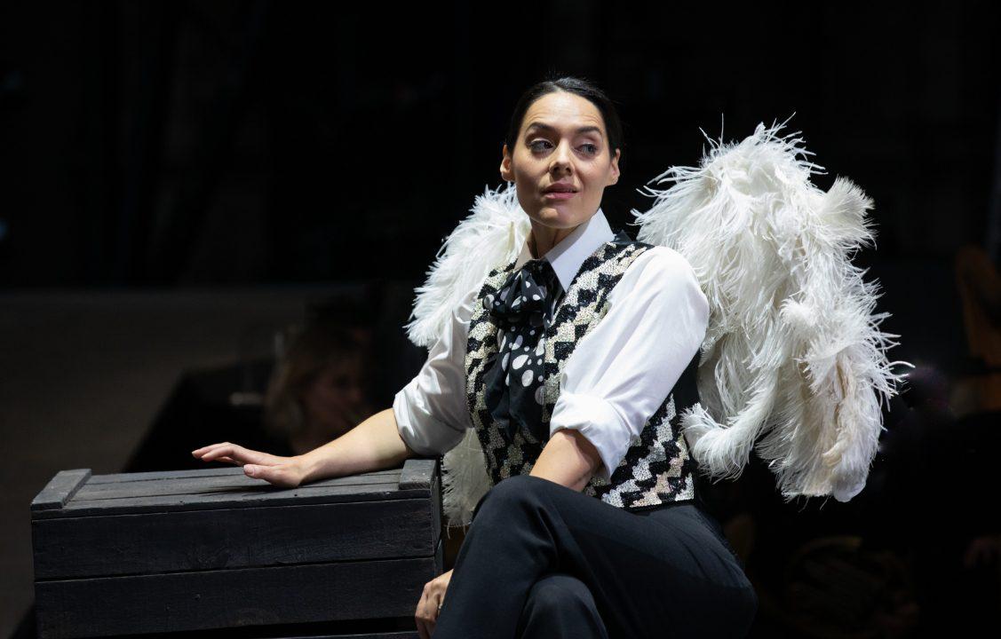 Kezia Bienek as Beppe in L'amico Fritz, 2021 © Ali Wright