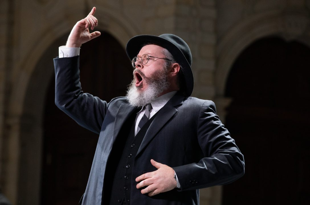 Paul Carey Jones as David in L'amico Fritz, 2021 © Ali Wright