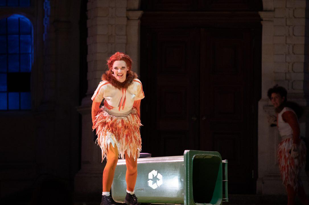 Jennifer France as The Vixen in The Cunning Little Vixen at Opera Holland Park, 2021 © Ali Wright