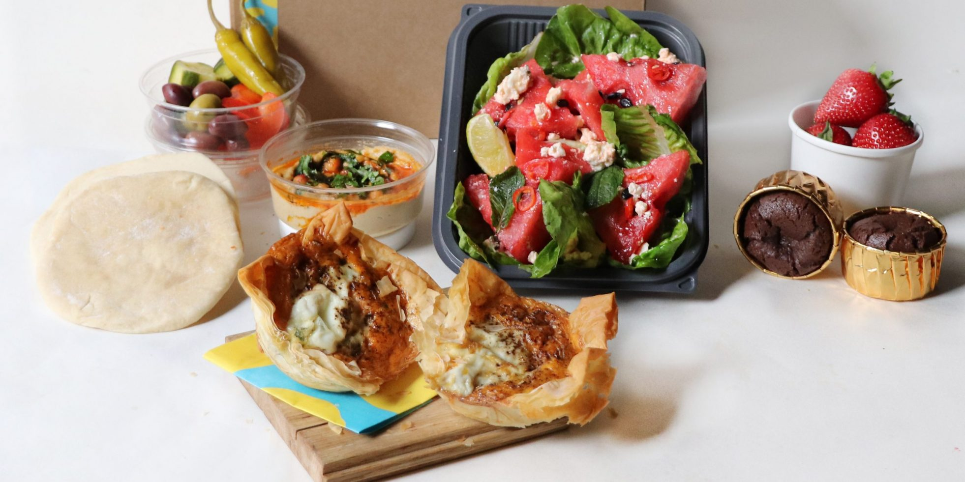 Pre-order a picnic box for your upcoming visit to Opera Holland Park from Honey & Co